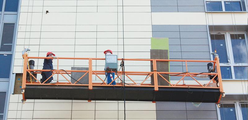 Монтаж и комплектация навесных вентилируемых фасадов