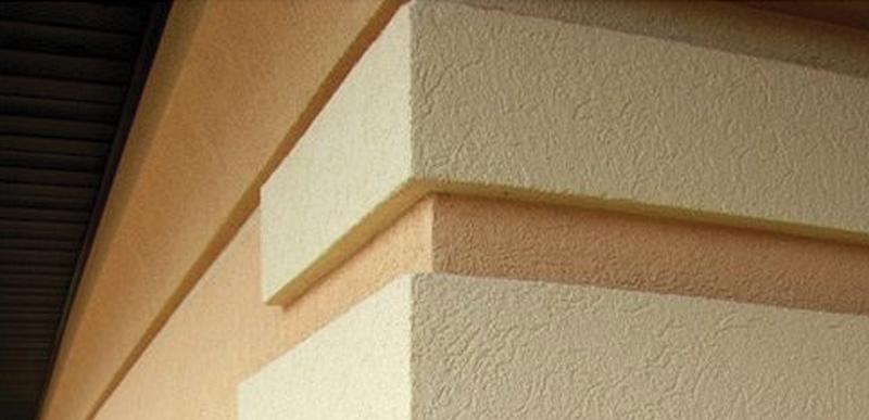 Облицовка фасадов штукатурным слоем (мокрый фасад)