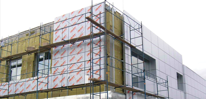Монтаж алюминиевых фасадных конструкций